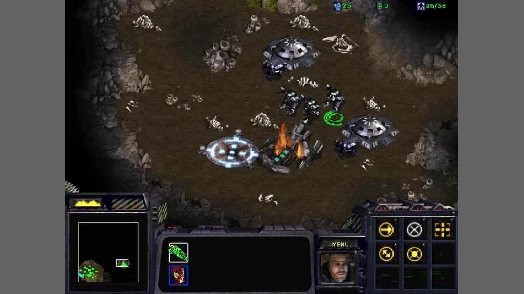 Star Craft Terran Crashed Norad II