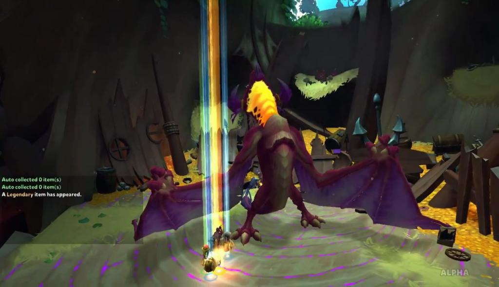 Dungeon Defenders 2 Betsy Dies