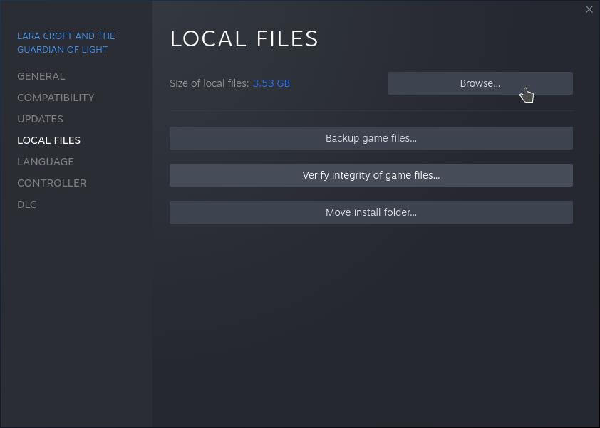 Steam Local Files